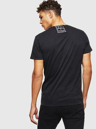 Diesel - T-DIEGO-J5, Black - T-Shirts - Image 3