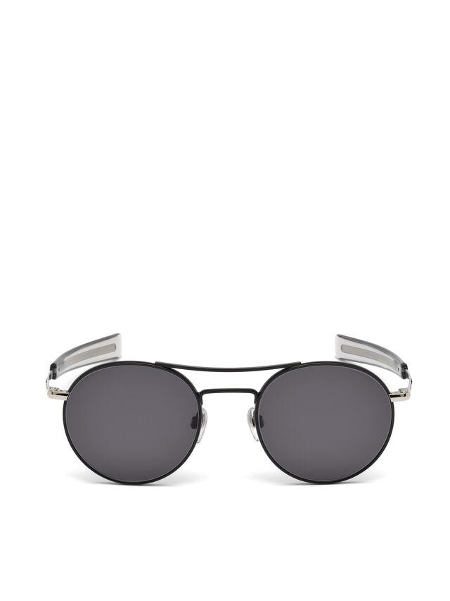 Diesel - DL0220, Black - Sunglasses - Image 1
