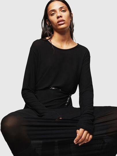 Diesel - D-RIBONET, Black - Dresses - Image 5