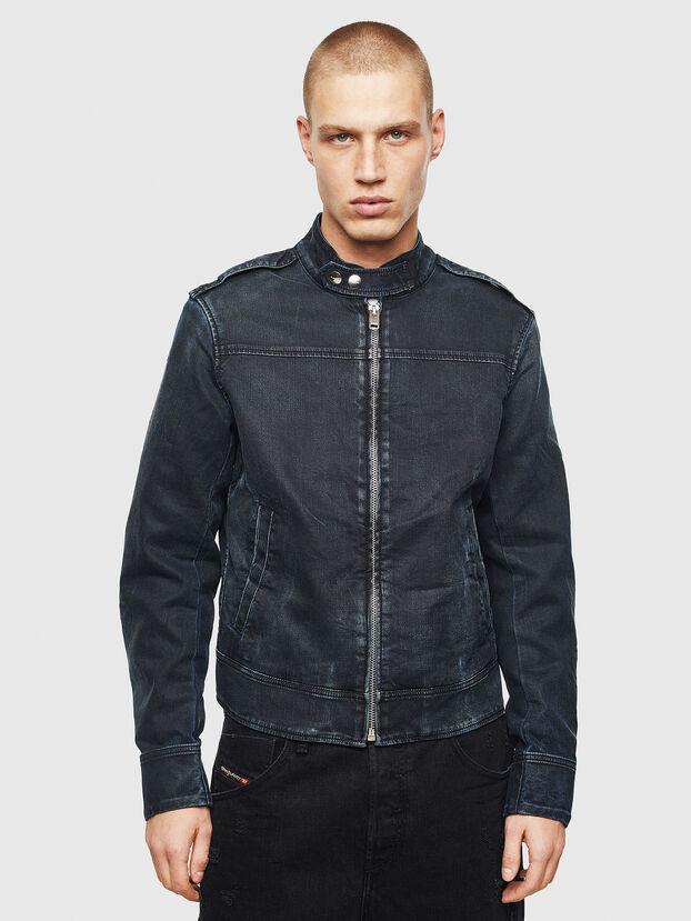 D-JEI JOGGJEANS, Dark Blue - Denim Jackets