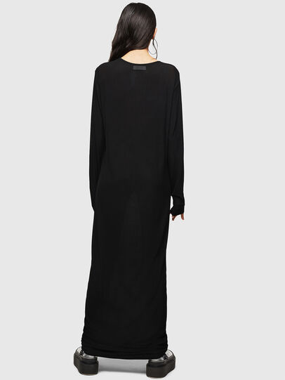 Diesel - D-RIBONET, Black - Dresses - Image 2