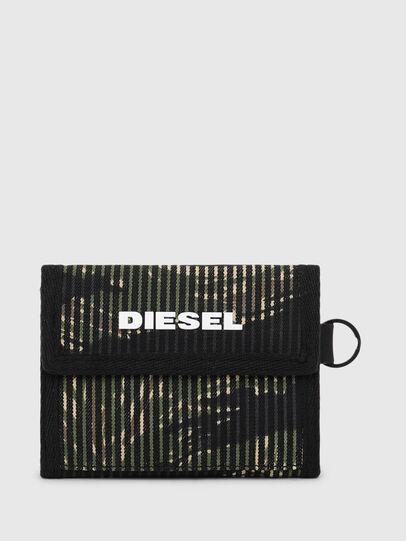 Diesel - YOSHI, Black/Green - Small Wallets - Image 1