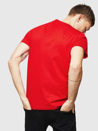 Diesel - T-DIEGO-DIV, Red - T-Shirts - Image 2