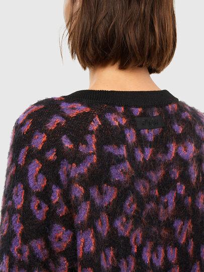 Diesel - M-RHONDA, Violet/Black - Knitwear - Image 4