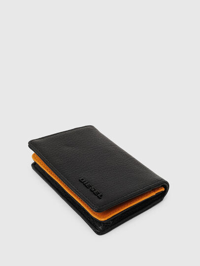 Diesel - DUKEZ, Black/Orange - Small Wallets - Image 5