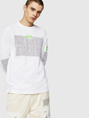 T-JUST-LS-NEW, White - T-Shirts