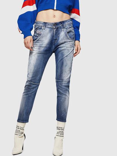 Diesel - Fayza JoggJeans 0870N, Medium blue - Jeans - Image 1