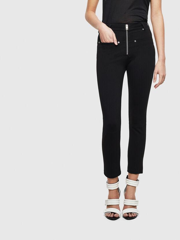 P-GLASSY, Black - Pants