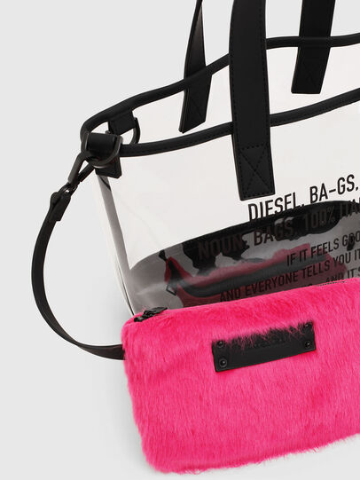 Diesel - PUMPKIE, White - Shopping and Shoulder Bags - Image 5