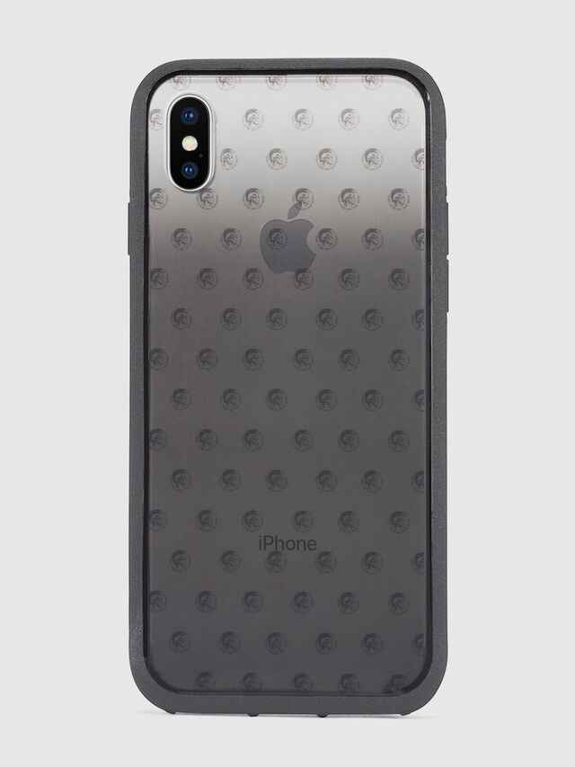 Diesel - MOHICAN HEAD DOTS BLACK IPHONE X CASE, Black/Grey - Cases - Image 2