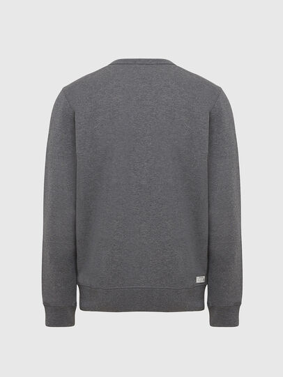 Diesel - UMLT-WILLY, Grey Melange - Sweaters - Image 2