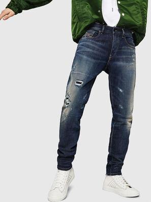 D-Strukt 0890W, Dark Blue - Jeans