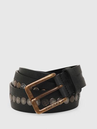 Diesel - B-LATERAL, Black - Belts - Image 2