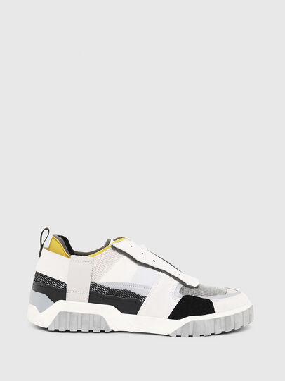 Diesel - S-RUA LOW DEC, White - Sneakers - Image 1