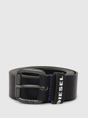 B-CAVA, Black/Blue - Belts