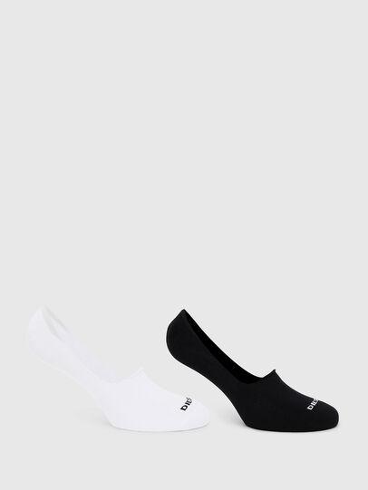 Diesel - SKM-NOSHOW-TWOPACK, White/Black - Socks - Image 1