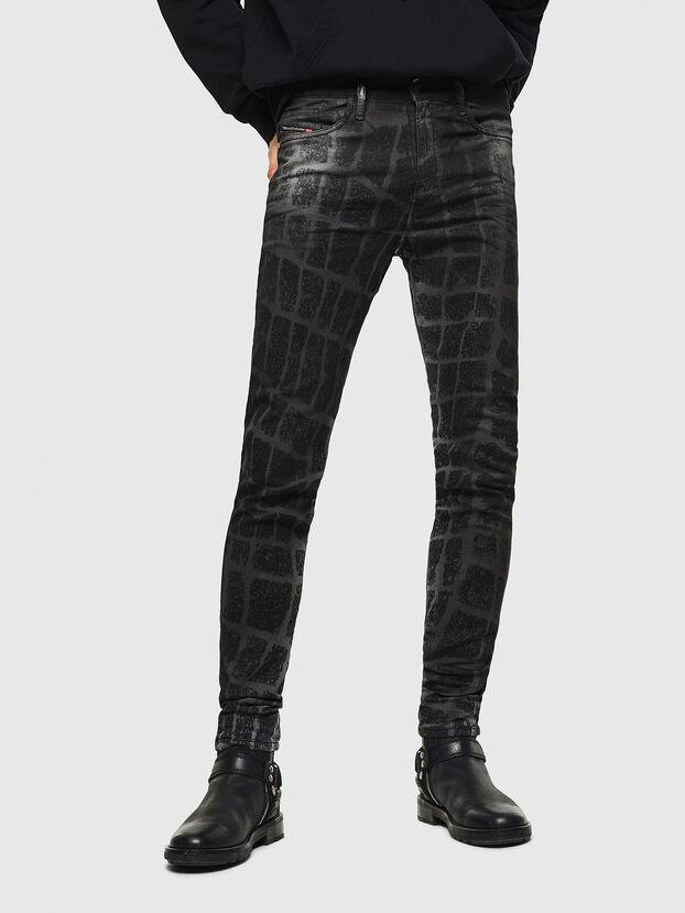 D-Reeft JoggJeans 0094M, Black/Dark grey - Jeans