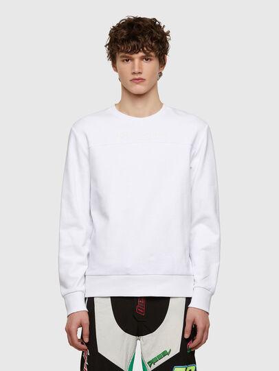 Diesel - S-COPET-E1, White - Sweaters - Image 1