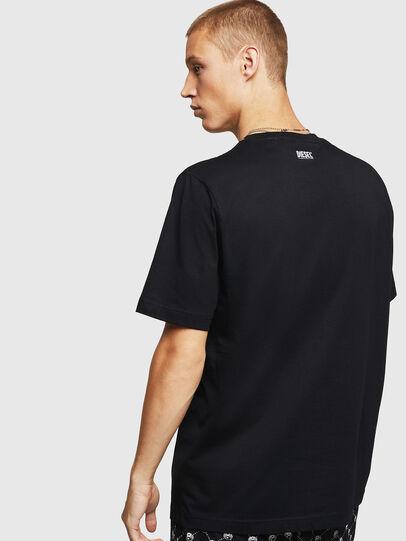 Diesel - T-JUST-B15, Black - T-Shirts - Image 2