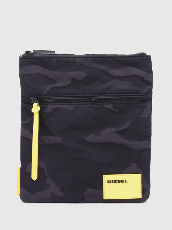 F-DISCOVER CROSS, Black/Yellow - Crossbody Bags