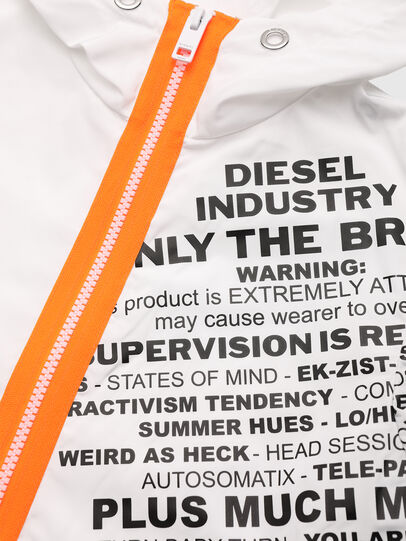 Diesel - JHEAD, White - Jackets - Image 3