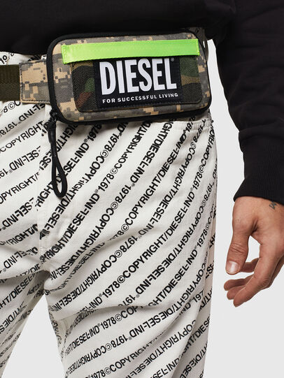 Diesel - BELT RUBBER CASE BIG, Green Camouflage - Continental Wallets - Image 6