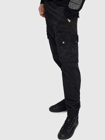 Diesel - P-PHANTOSKY, Black - Pants - Image 5