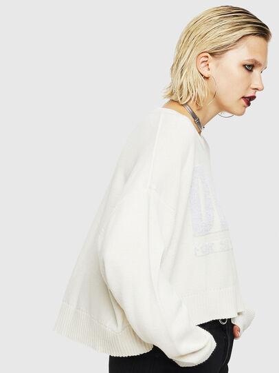 Diesel - M-LUREXY, White - Knitwear - Image 4
