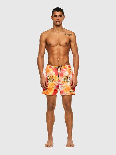 Diesel - BMBX-WAVE 2.017, Orange - Swim shorts - Image 1