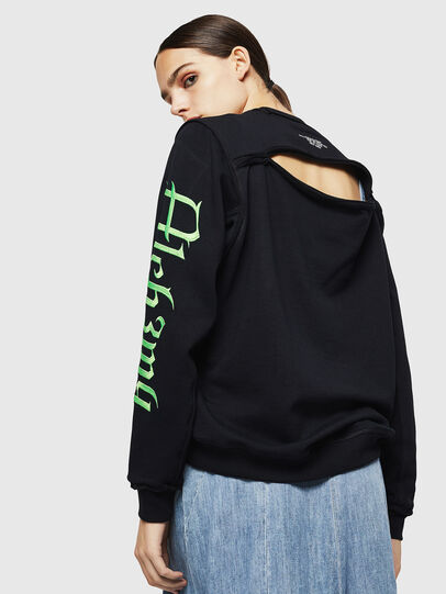 Diesel - F-LYANYDY-A, Black - Sweaters - Image 2