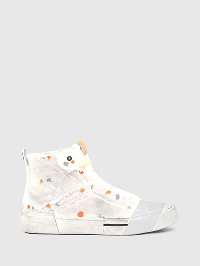 Diesel - S-DESE SCT, White/Orange - Sneakers - Image 1