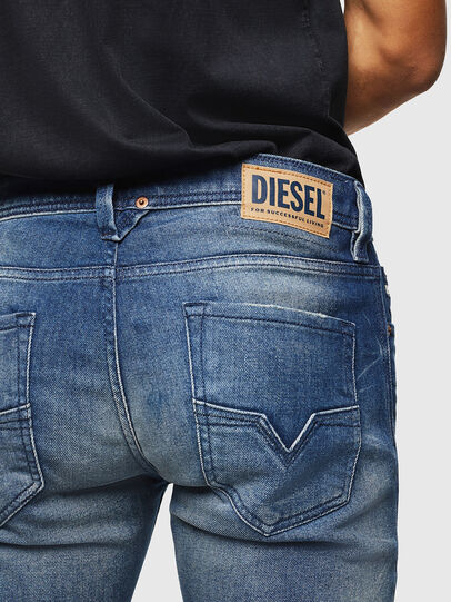 Diesel - Larkee 0090D, Medium blue - Jeans - Image 5