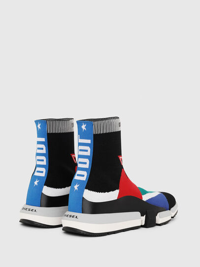 Diesel - H-PADOLA HIGH SOCK, Multicolor - Sneakers - Image 3