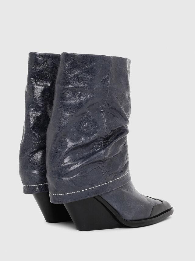 Diesel - D-WEST MB, Blue - Ankle Boots - Image 3