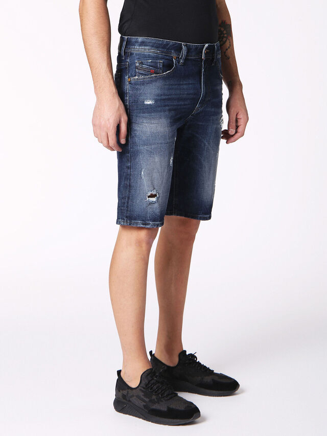 Diesel - THOSHORT, Blue Jeans - Shorts - Image 3