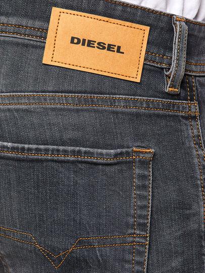 Diesel - Sleenker 009DJ, Black/Dark grey - Jeans - Image 4