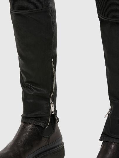 Diesel - D-Derrot JoggJeans 069QY, Black/Dark grey - Jeans - Image 5