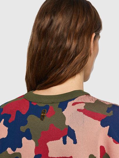 Diesel - M-MONTANA, Green/Pink - Knitwear - Image 4