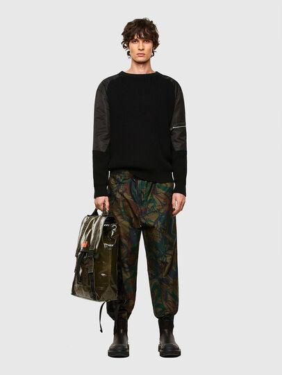 Diesel - MARBACK, Olive Green - Backpacks - Image 7