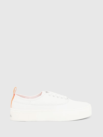 Diesel - S-VANEELA LOW, White/Orange - Sneakers - Image 1
