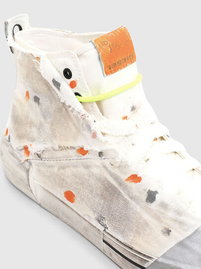 Diesel - S-DESE SCT, White/Orange - Sneakers - Image 4