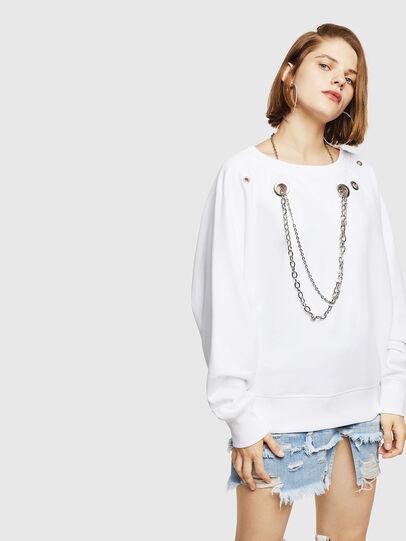 Diesel - F-HENNY-B, White - Sweaters - Image 5