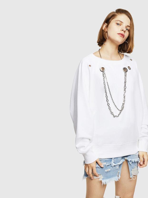 F-HENNY-B, White - Sweaters