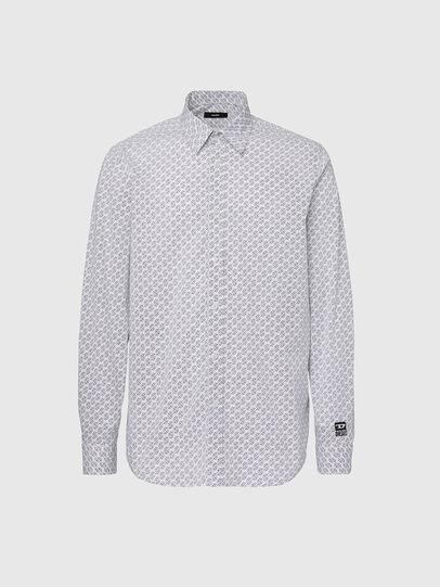 Diesel - S-RILEY-KA, White - Shirts - Image 1