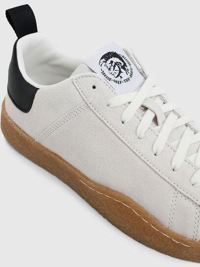 Diesel - S-CLEVER PAR LOW, White/Black - Sneakers - Image 4