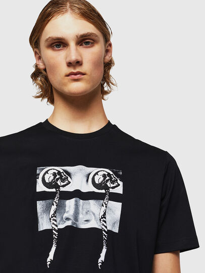 Diesel - TY-X1, Black - T-Shirts - Image 4