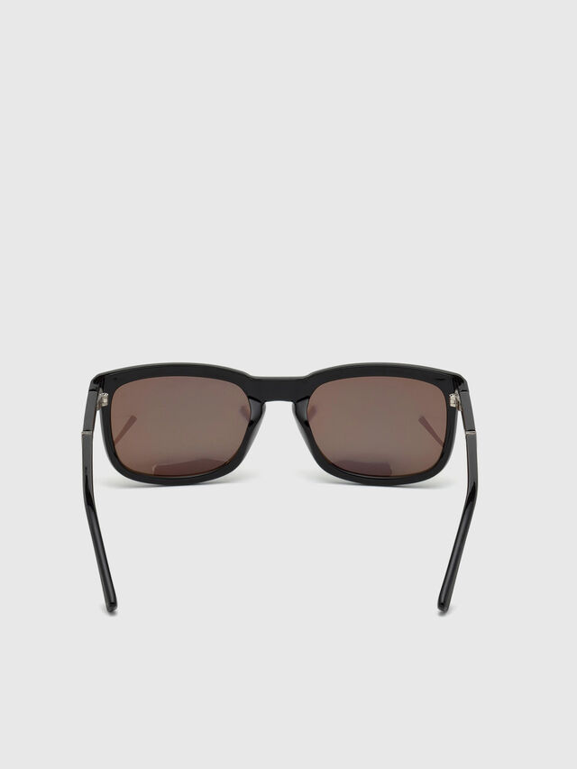 Diesel - DL0262, Black/Green - Sunglasses - Image 4