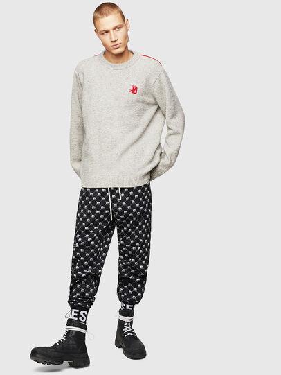 Diesel - K-CASY, Light Grey - Knitwear - Image 5