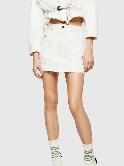 Diesel - DE-JODY, White - Skirts - Image 3