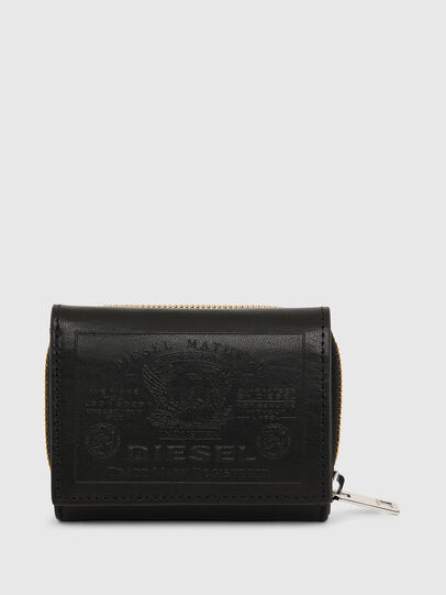 Diesel - SPEJAP, Black - Small Wallets - Image 1